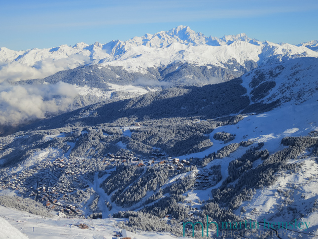 Latest Snow Conditions In Meribel - Early January