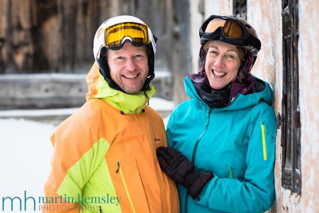 Humans of Meribel - Judy and Chris