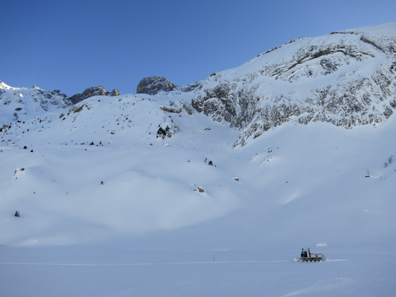 Off piste skiing in Meribel, France with MH2ski. Click to see larger version