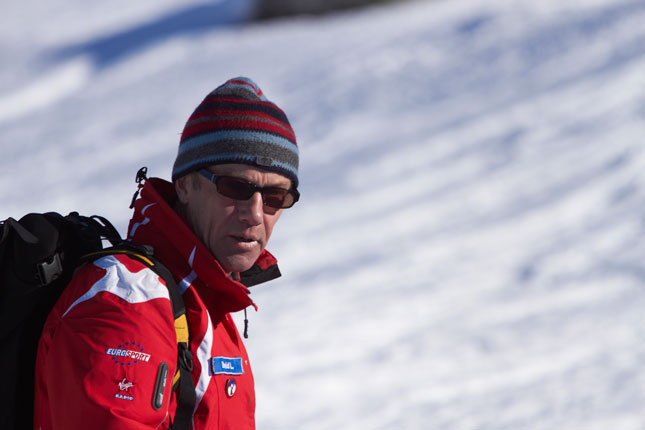 David Lindsay, British ski instructor in Meribel
