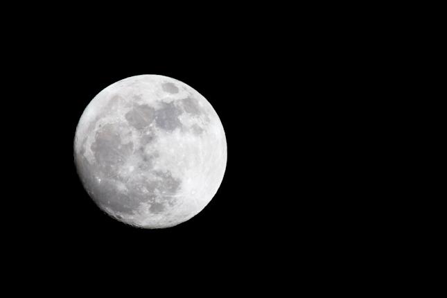 Alpine Full Moon