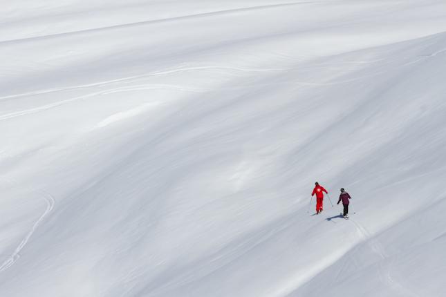 Spring Snow Skiing