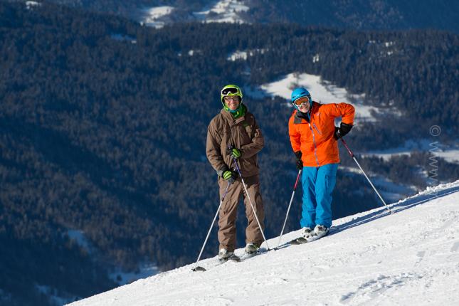 New Year Skiing In Meribel