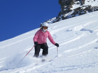 Meribel private ski lessons