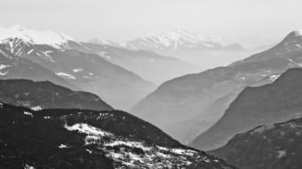 Murky Meribel view