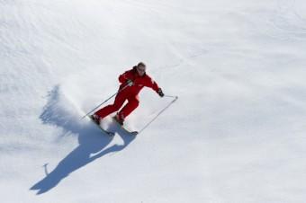 Spring Snow Ski Instructor